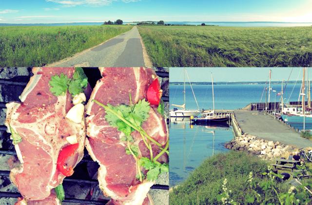 Was kochen beim Segeln: Lammkoteletts auf Avernakö