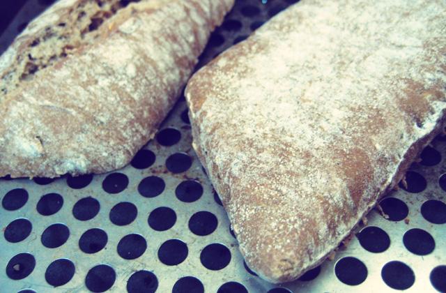 Sättigungsbeilage: geröstetes Brot