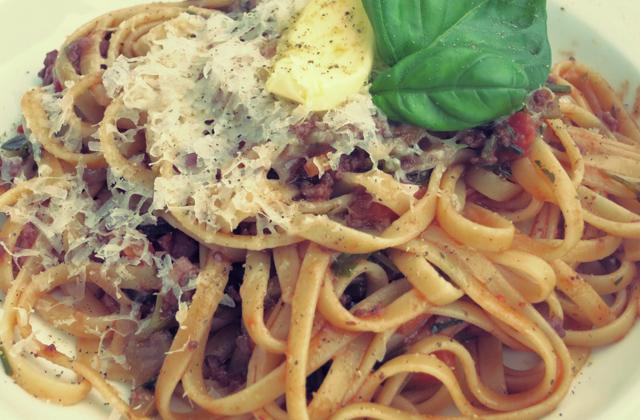 Rezepte Segeln Pasta Parmesan