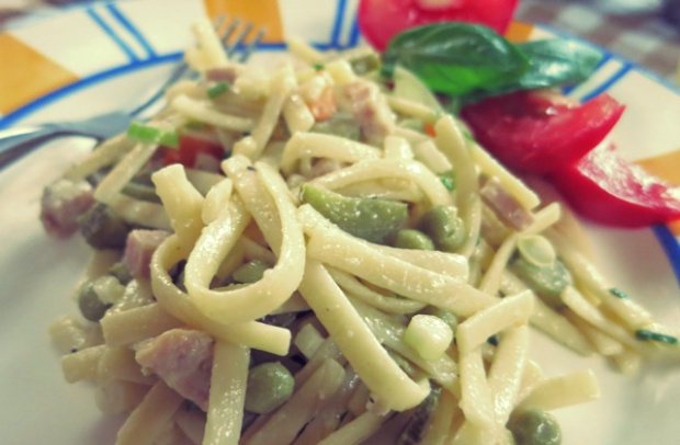 Bordküche Segelrezept Nudelsalat