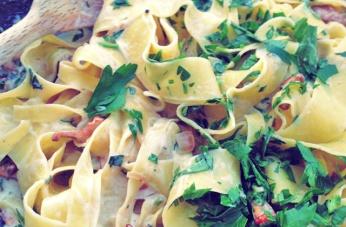 Pfifferlinge Pasta Bordrezept Segeln