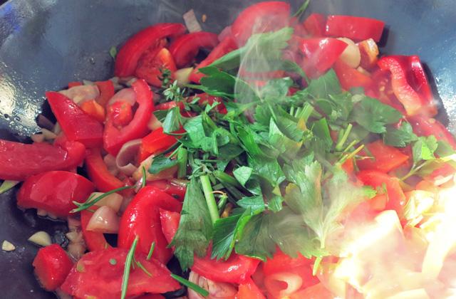 Sommerküche Tomaten : Ratatouille paprika tomaten die see kocht