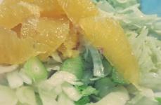 Salat Fenchel Kombüse Segelrezept