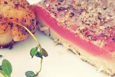 Thunfisch Jaobsmuscheln Segelrezept Kombüse