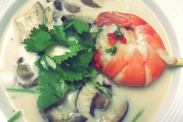 Segelrezept Thai Suppe Tom Kha