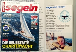 Segeln 02/2015 Die See kocht Segelrezepte