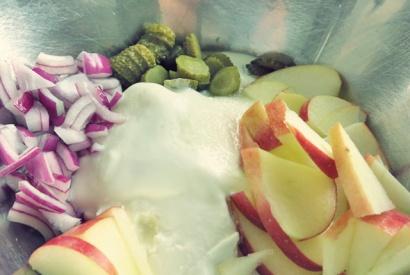 Matjes Hausfrauenart, was kochen beim Segeln?