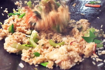 Fried Rice Rezept für Segeln und Camping