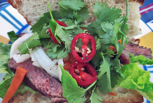 Hot-Dog Banh Mi Segelrezept Camping Outdoor BBQ