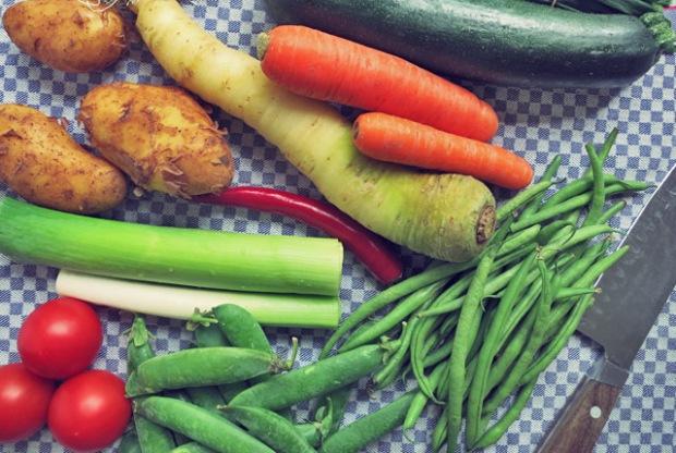 Soupe au Pistou Zutaten Seglerküche, Kombüse oder Camping