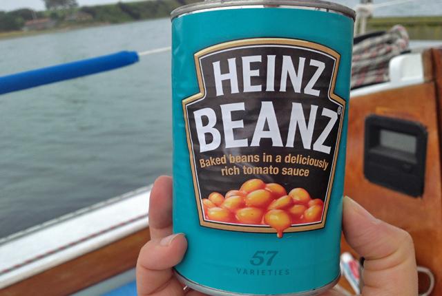 Baked Beans Dose von Heinz
