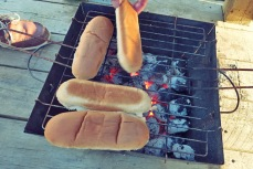 Hot- BBQ Segeln Camping Outdoor