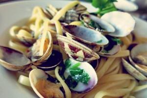 Spaghetti Vongole Rezept für Segler, Camper und Kombüsen
