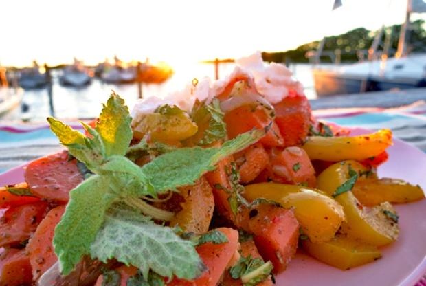 Was kochen beim Segeln? Marokkanischer Möhrensalat.
