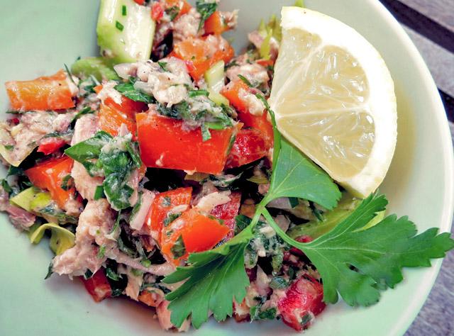 lsardinen salat es muss nicht immer thunfisch sein die see kocht. Black Bedroom Furniture Sets. Home Design Ideas