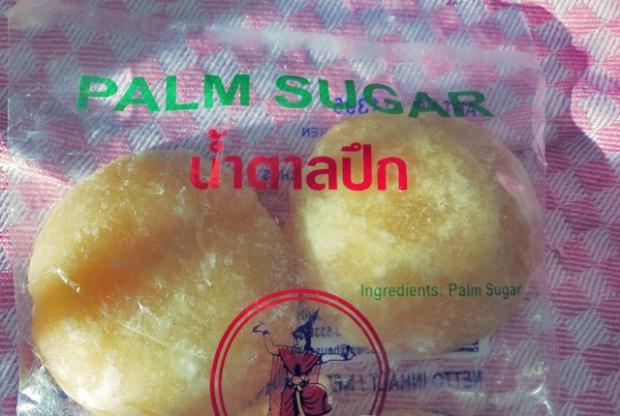 Palm Sugar, nicht ganz so süß, aber auch aus Saccharose