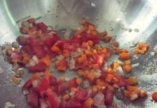 Linsensalat. Was kochen beim Segeln, in der Kombüse oder Camping?