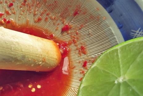 Yam Nua. Was kochen beim Segeln, BBQ oder in der Kombüse