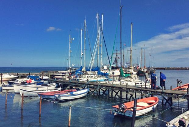 Fischboote auf Samsø