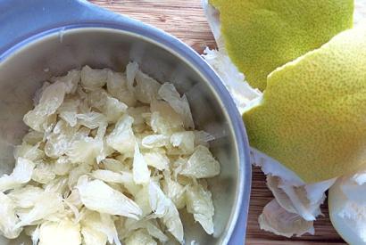 Pomelosalat Rezept für Segeln und Camping