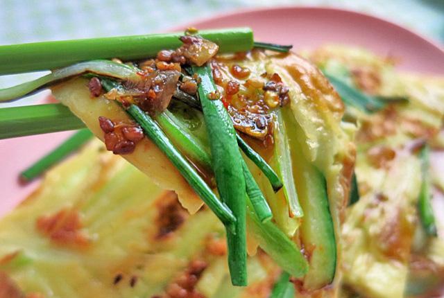 Bordrezept Segeln Koreanischer Pfannkuchen Pa Jeon