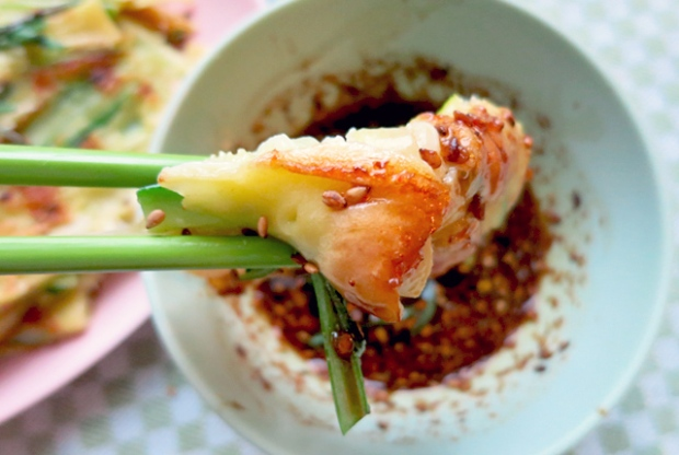 Bordrezept Segeln Koreanischer Pfannkuchen