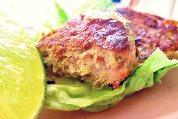 Tuna patties Fisch Frikadellen Bord-Rezepte Segeln Thunfisch