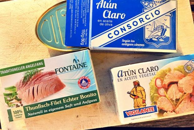 Bord Proviant Thunfisch Bord-Rezepte Segeln Thunfisch
