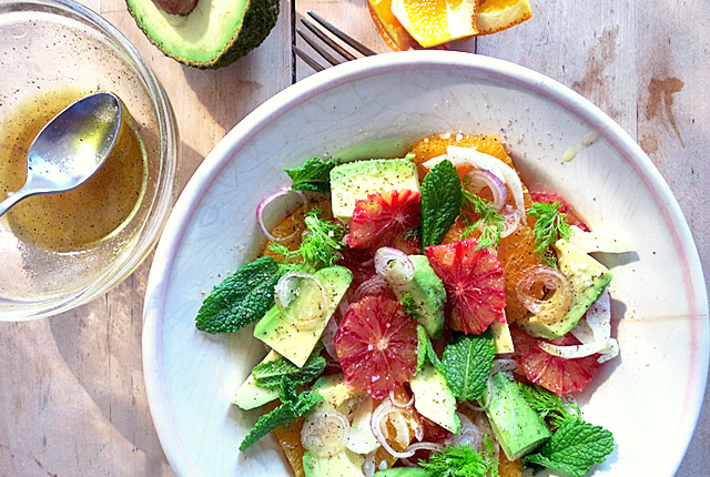 Bordrezepte: Orangen-Avodaco-Fenchel-Salat Segeln