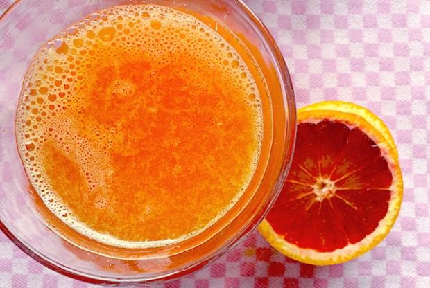 Vitamin C Bombe frischgepresster Orangensaft