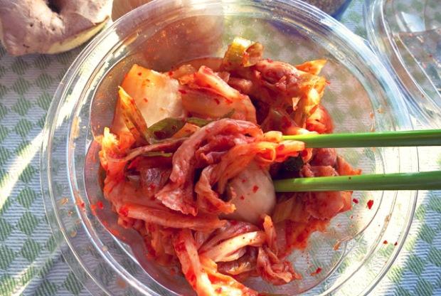 Kimchi Suppe Kimchi Original Chinakohl Bordproviant