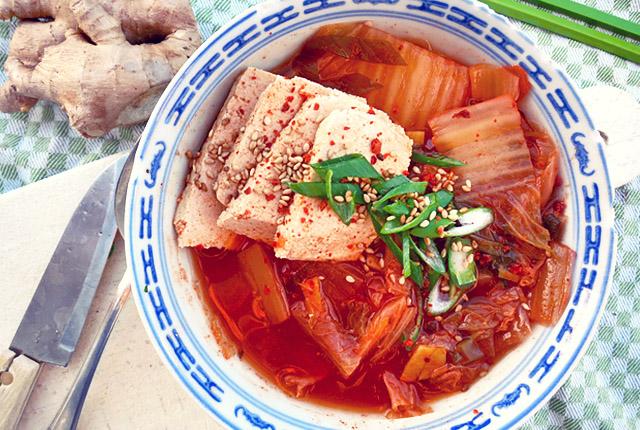 Kimchisuppe Schnelles Rezept für Segeltörns Die See kocht