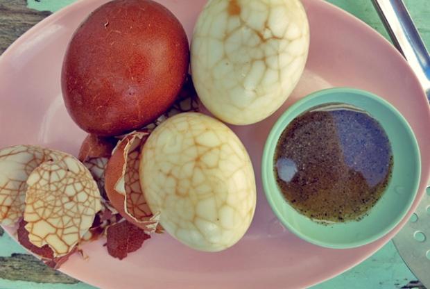 Chinesische Tee-Eier Ostern Segel Rezept Kombüse