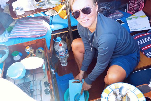 Abwasch biologisch Grauwasser Segelyachten