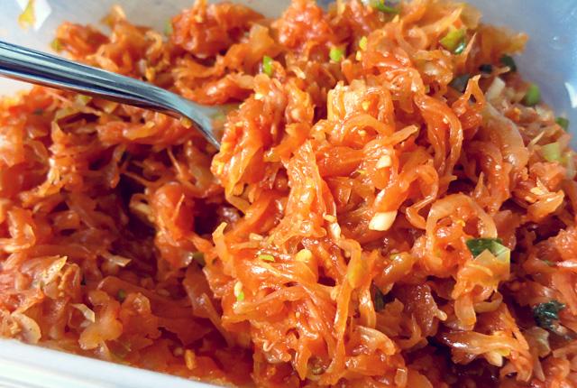 Sauerkraut Kimchi German Style Segel rezept