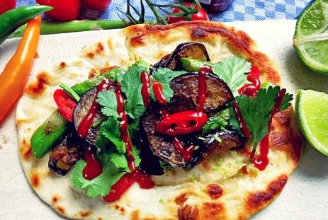 Dinkel Tacos vegan mit Spargel Segel Rezept Kombüse