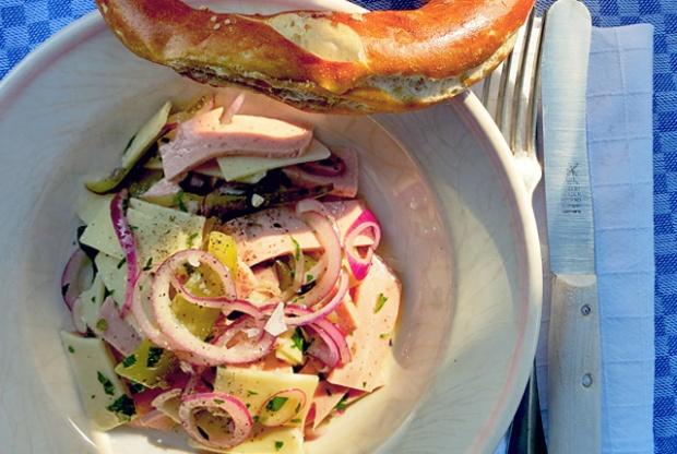 Schweizer Wurstsalat Original Rezept Segeln Bordküche