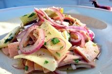 Wurstsalat Original Rezept Segeln Bordküche