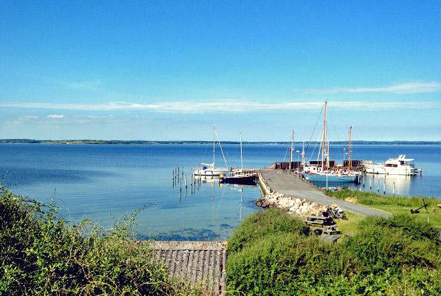 Avernakø Korshavn romantischer Liegeplatz