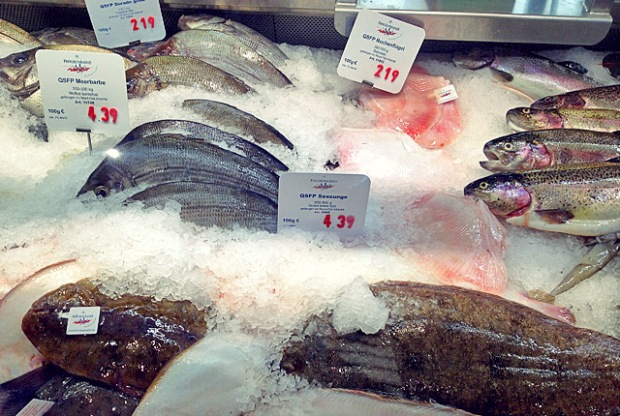 Frisch Fisch Theke Frischeparadies