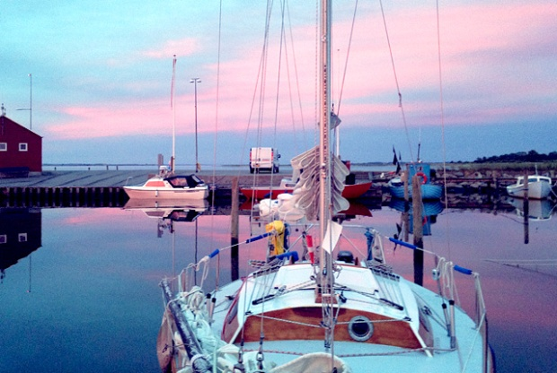 Kochen an Bord, Romatisch essen beim Segeln