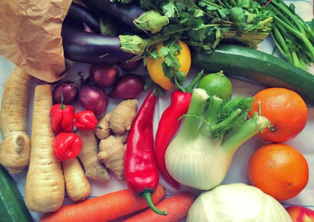 Gemüse frisch Proviant Segeln
