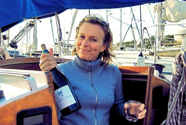 Kochen an Bord, Auch den Wein nicht vergessen
