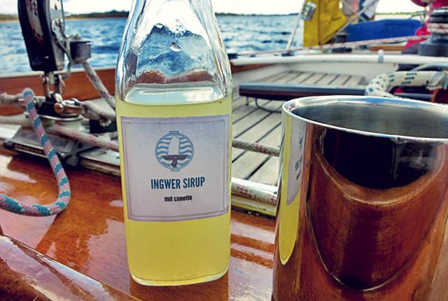 Ingwertee Bordküche Rezepte gegen Seekrankheit bei Kälte