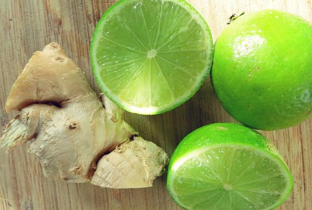 Rezepte gegen Seekrankheit Ingwer Limette