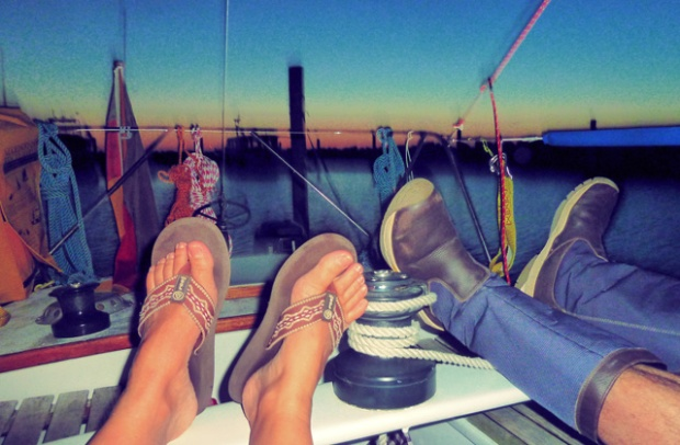 Kochen und genießen an Bord