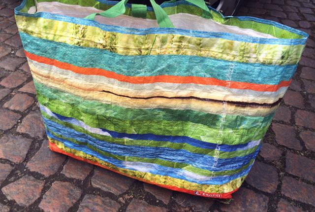 Mehrweg Plastiktaschen