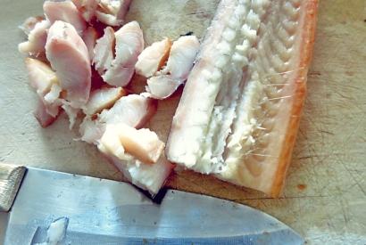 Bordrezept Segeln Spargelsuppe mit Aal oder Räucherlachs