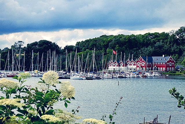 Dyvig Hotel Hafen Denmark Schönster Segelhafen