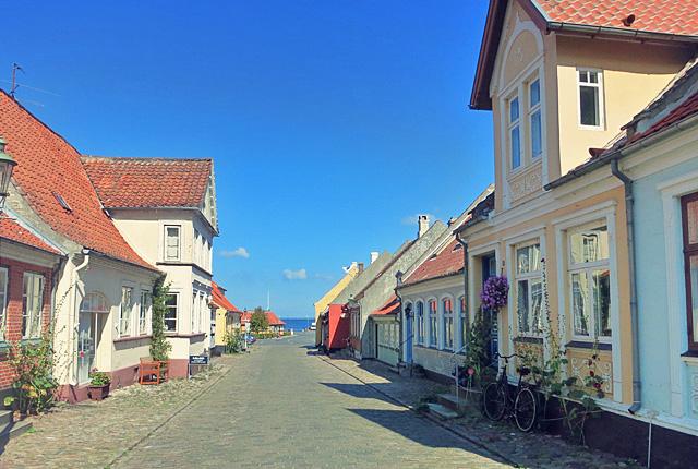 Aeroesköping Strasse zum Hafen